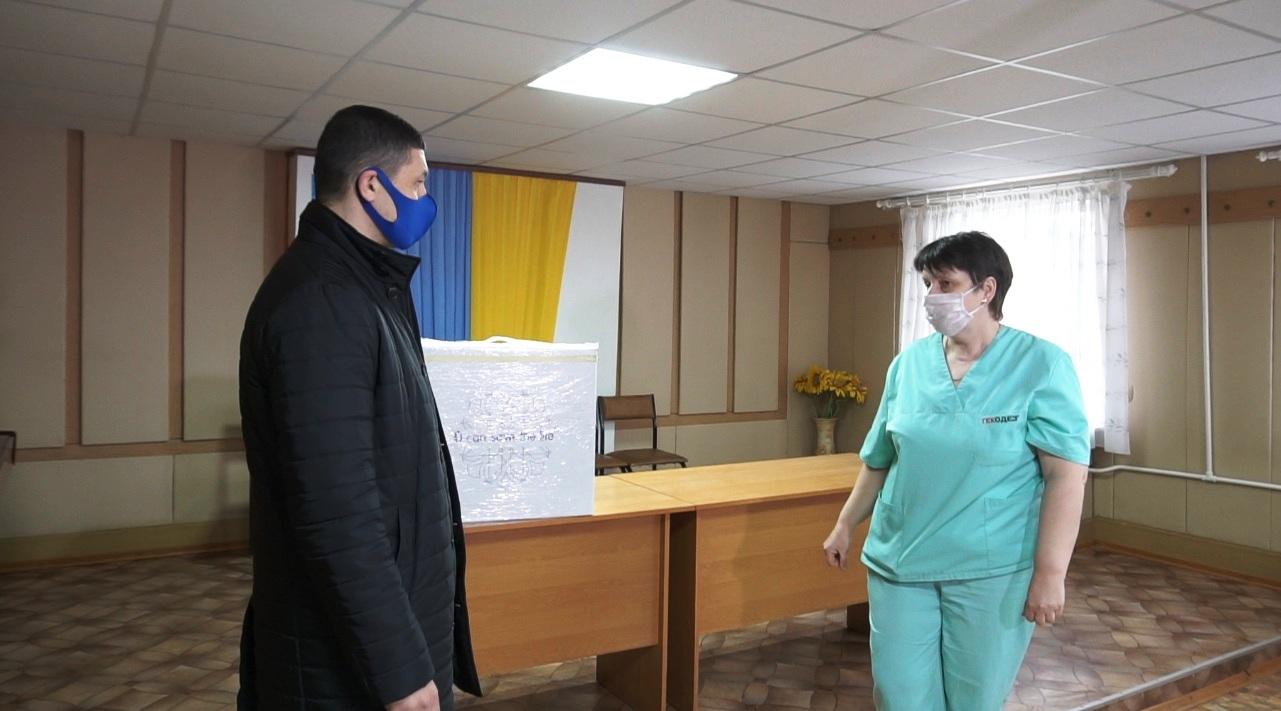 Медики району прийматимуть хворих на COVID-19