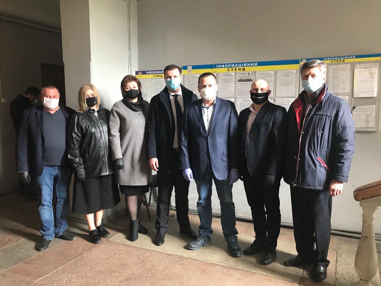 Олександр Шамота у компанії міського голови Дніпра Бориса Філатова
