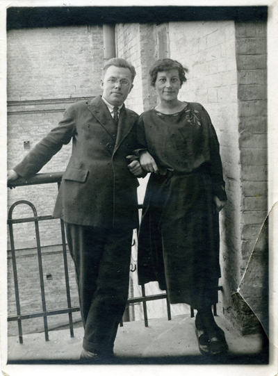 Микола Зеров із дружиною Софією. Фото: litakcent.com
