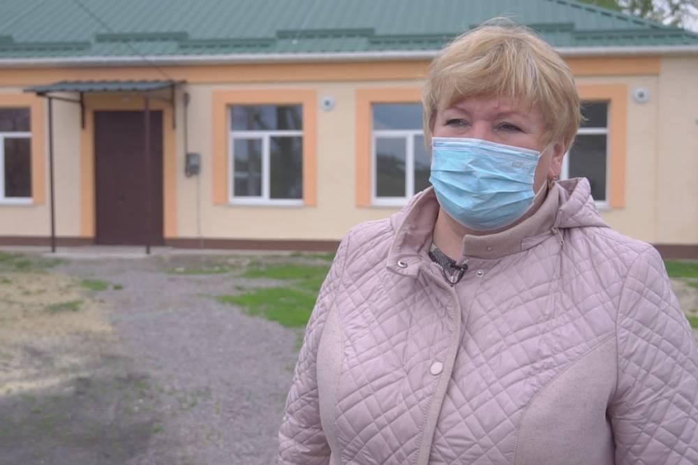 Директорка Василівської ЗОШ Людмила Горіздра
