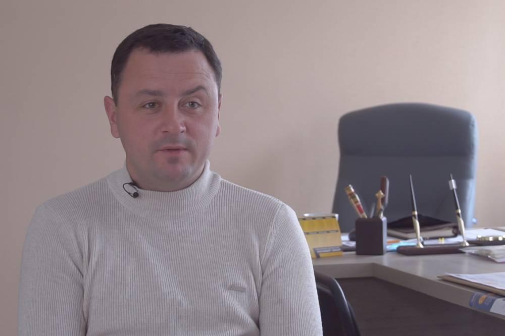 Голова Коломацької ОТГ Євген Почечун