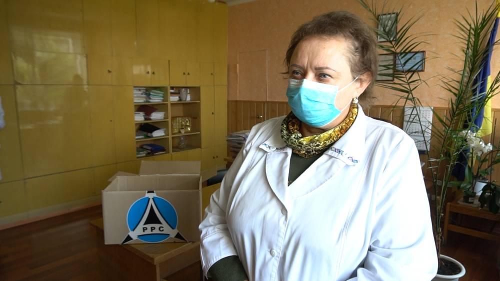 Ольга Гиря, головна лікарка Новосанжарської райлікарні