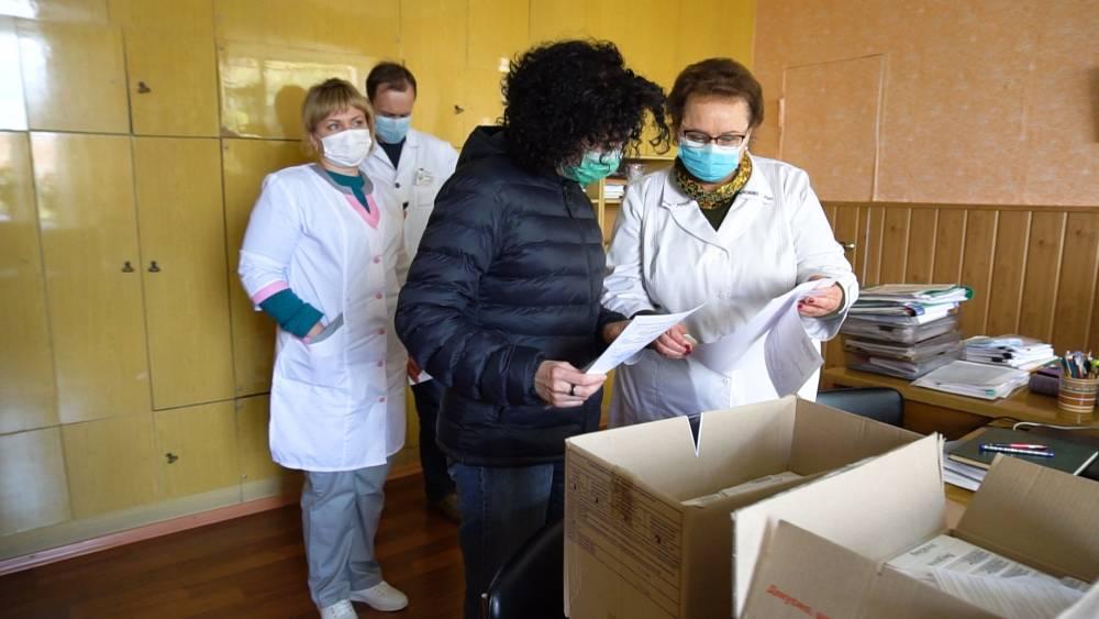 СП ПГНК передало 175 експрес-тестів Новосанжарській райлікарні