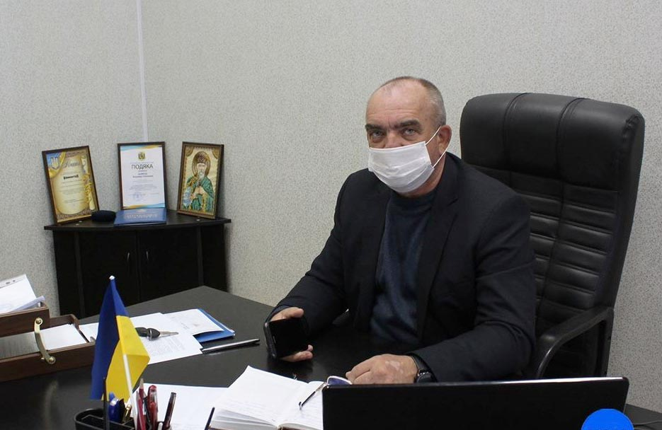 Головний лікар Кобеляцької районної лікарні Володимир Казирод