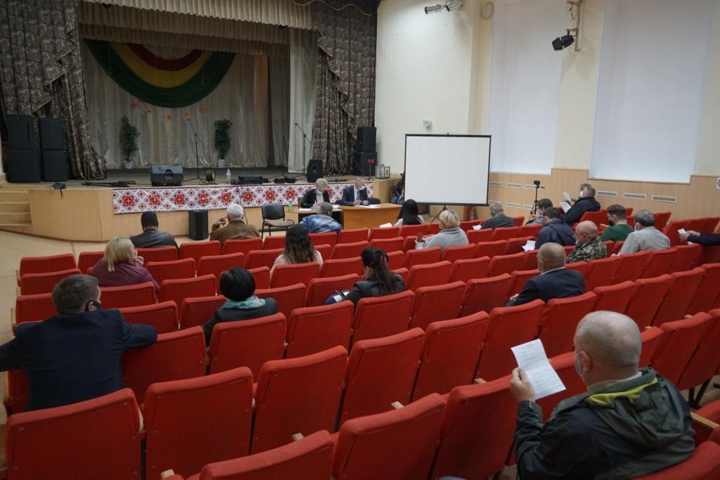 Депутати Щербанівської сільської ради провели 32 позачергову сесію сьомого скликання