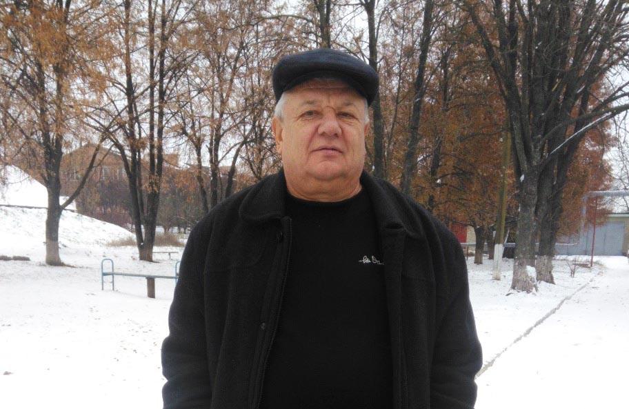 В. о. старости Надержинщинської сільради Григорій Варава
