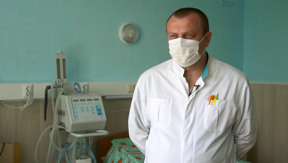 Головний лікар Семенівської райлікарні Олександр Романюк