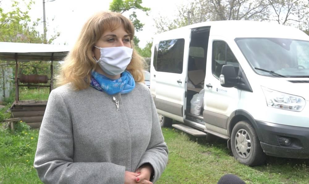 Заступниця генерального директора з соціальних питань «Агрофірми «ім. Довженка» Наталія Хорольська