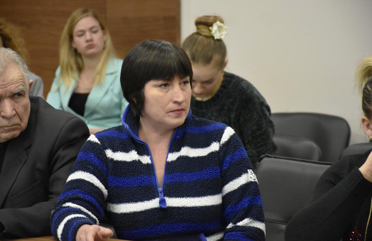 Антоніна Опошнян — активістка Комітету Порятунку Громади