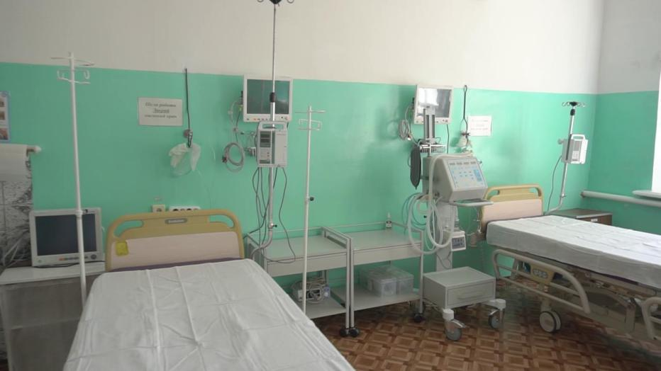 Нові монітори пацієнта та апарат ШВЛ встановили в реанімаційній