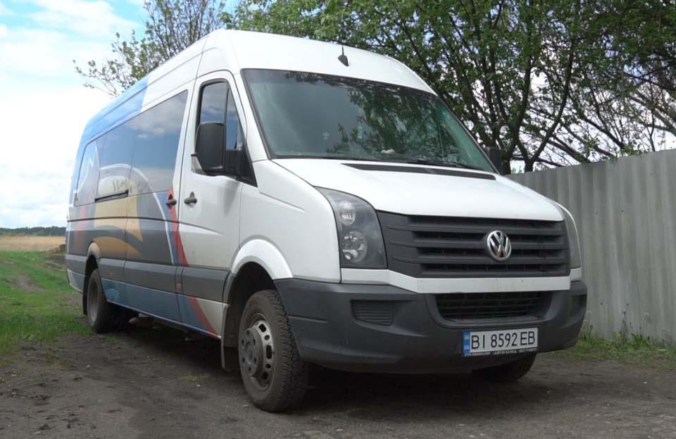 Мікроавтобус для особистих потреб мешканців Коломацької ОТГ