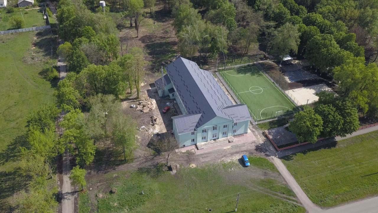 Відремонтована школа у Коломацькому