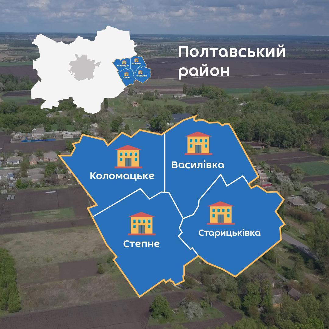 З 2020 року у Коломацькій ОТГ буде чотири сільради