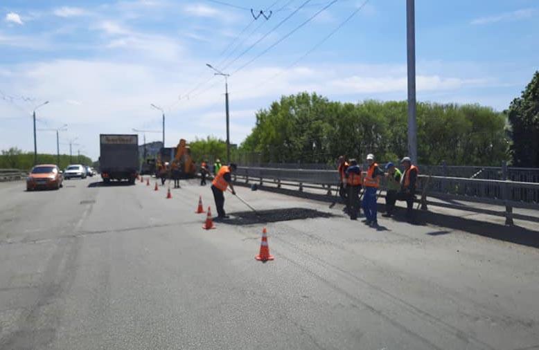 Ремонт Супрунівського шляхопроводу «Будгарантом» 11 травня 2020 року