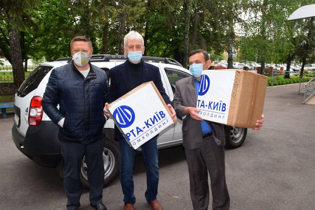 Агропромхолдинг «Астарта-Київ» постійно допомагає медичним закладам