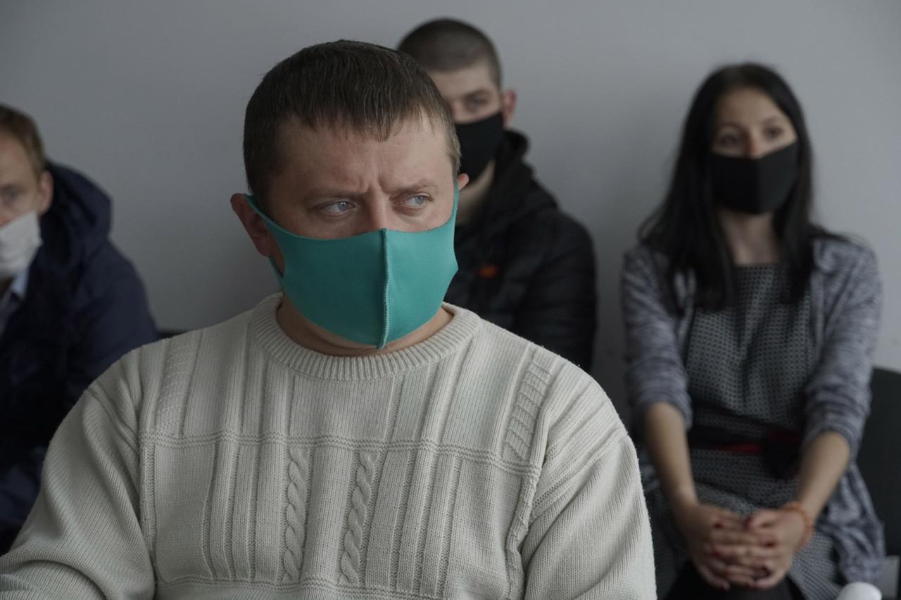 Завідуючий СК «Розсошенці» Олександр Капран