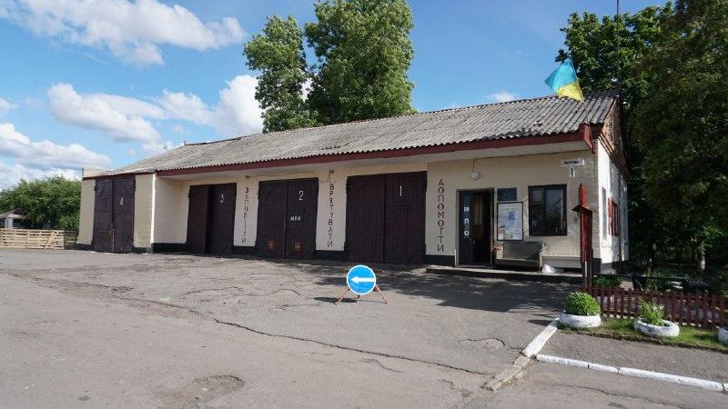 У селі Божківське створили місцеву пожежну охорону