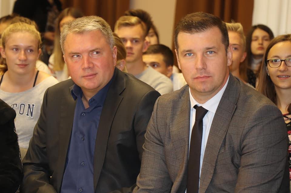 Олег Бєлоножко та Олександр Шамота
