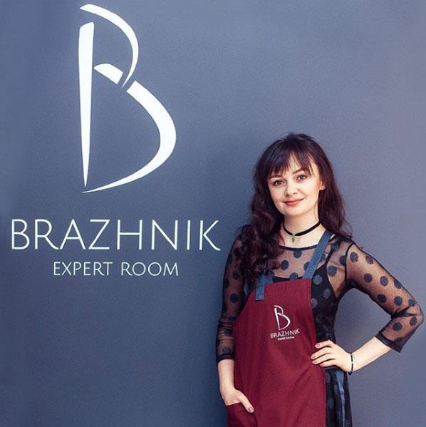 Засновниця студії брів Brazhnik Expert Room Людмила Бражник