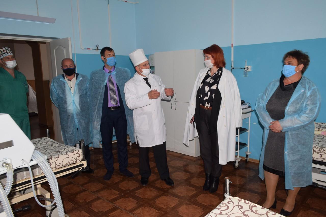 Лікарі та керівництво району вдячні СТОВ «Мусіївське» за підтримку