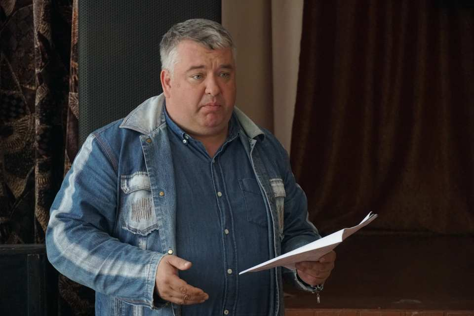 Депутат Щербанівської сільської ради В'ячеслав Макаренко