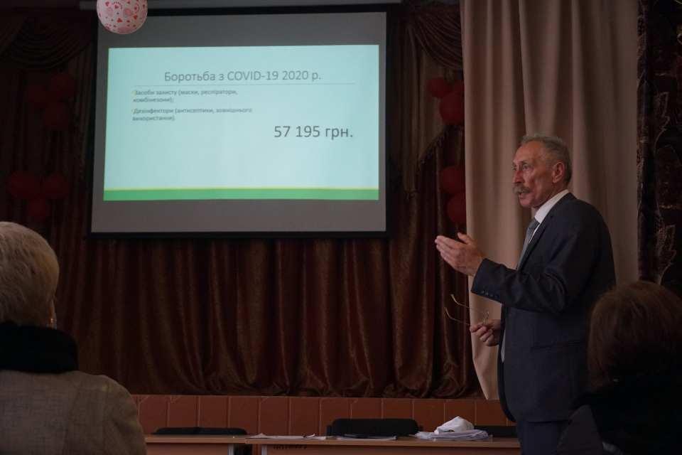 Голова Щербанівської громади Ігор Процик прозвітував про роботу сільської ради за 2018-2020 роки