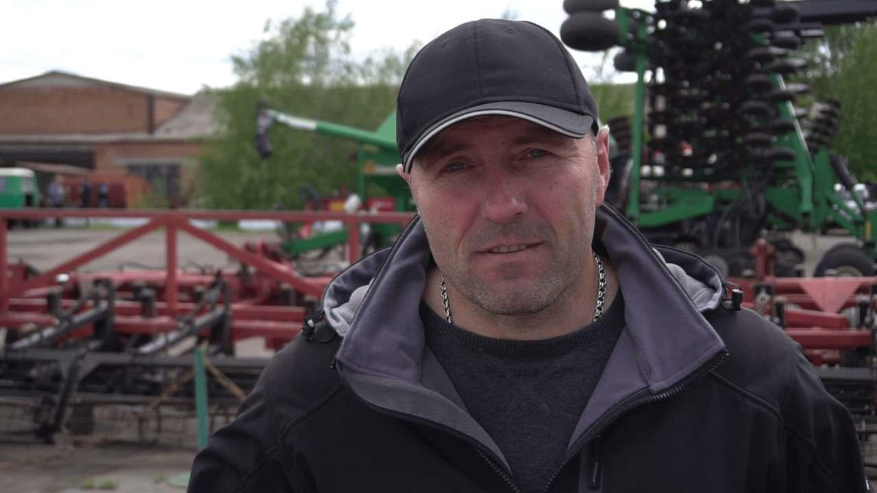 Головний агроном ДП ДГ «Степне» Віталій Товстошкур