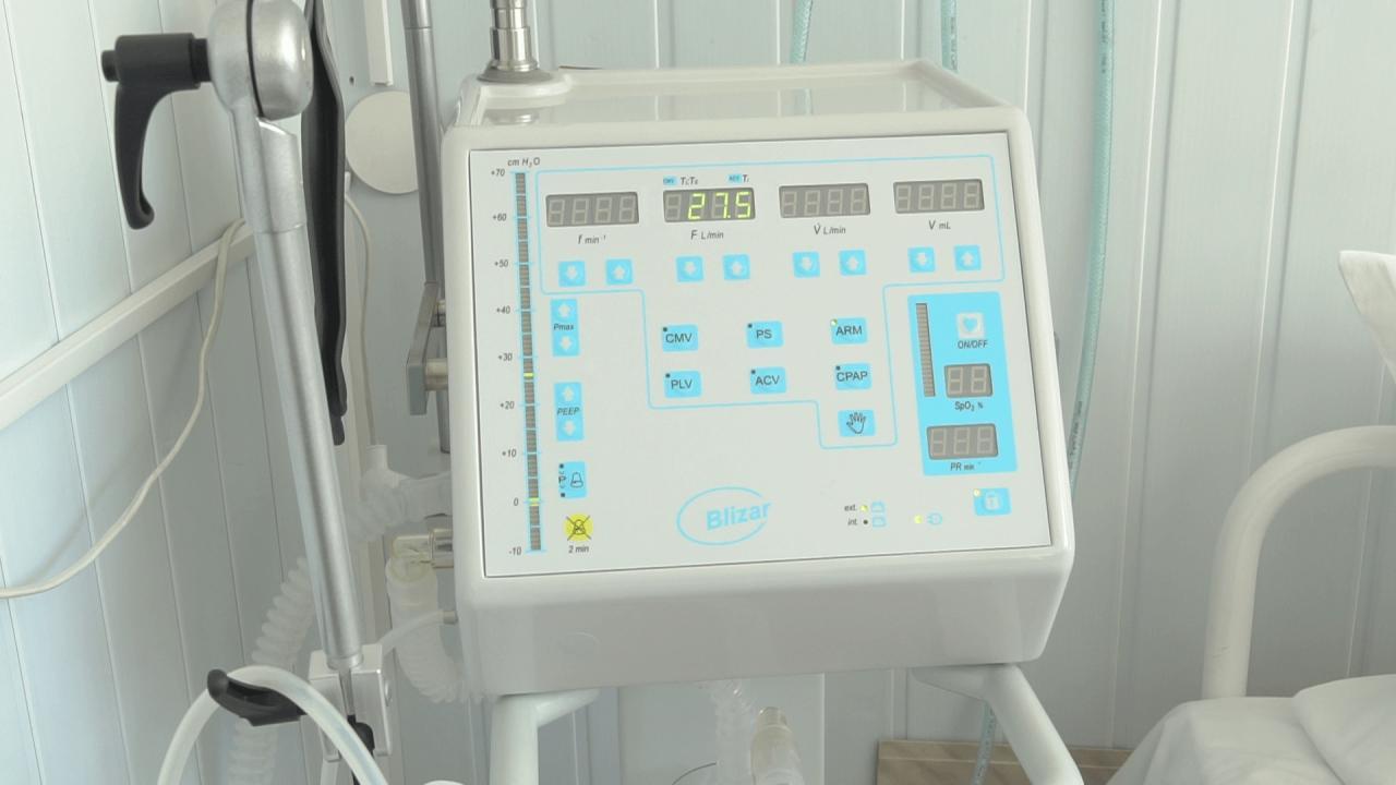 Апарат ШВЛ встановили у реанімаційному відділенні
