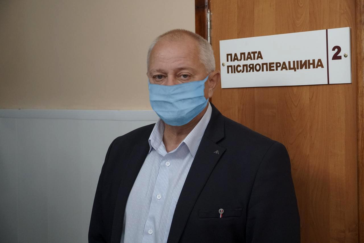 Директор КНП «Решетилівська районна лікарня» Юрій Черкун