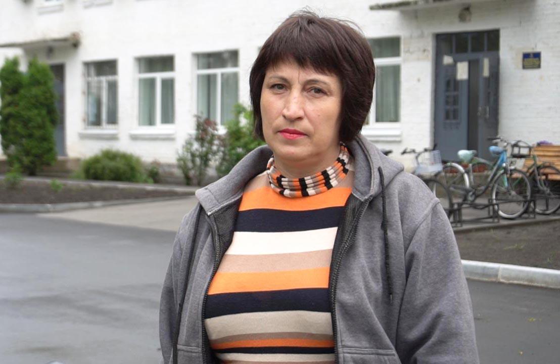 Антоніна Опішнян — активістка з Коломацького