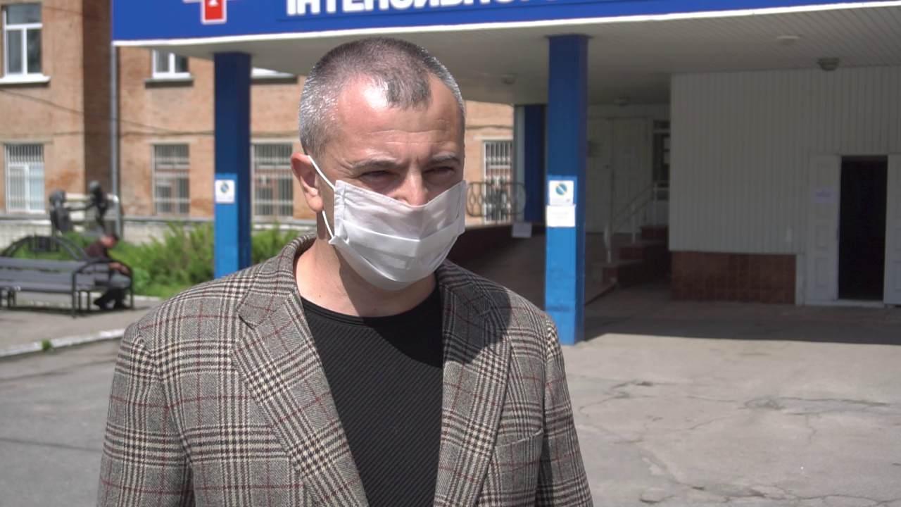 Голова Лубенської РДА Олександр Циганенко