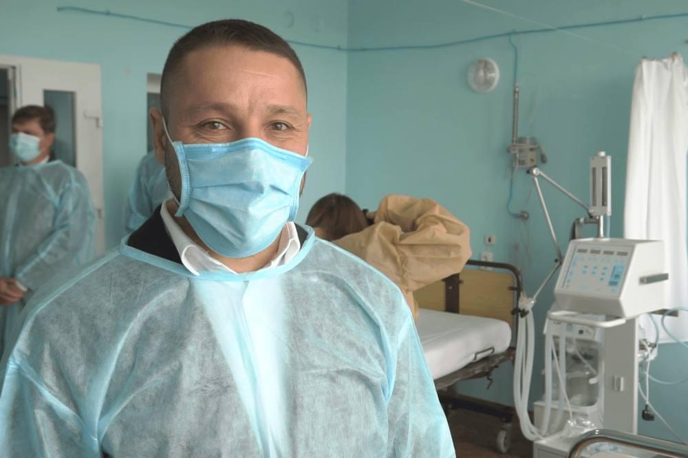 Голова Новосанжарської районної державної адміністрації Владислав Васюта