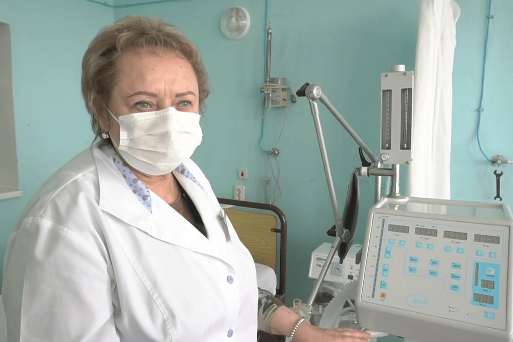 Головний лікар КНП «Новосанжарська центральна районна лікарня» Ольга Гиря