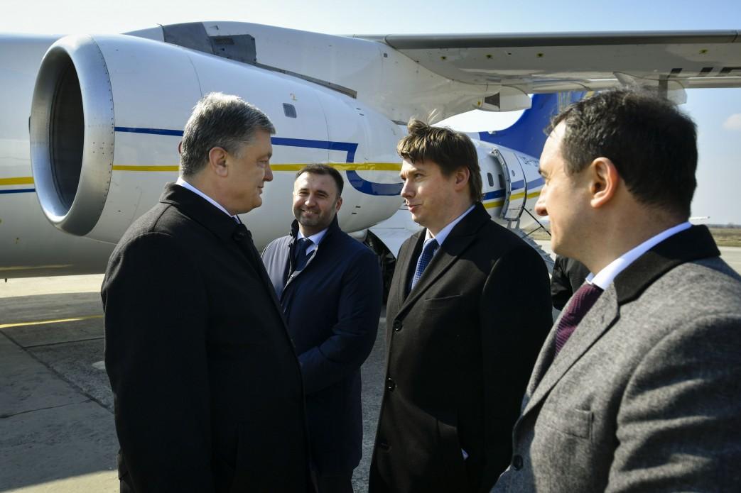 Петро Порошенко та Олександр Біленький