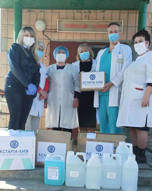 Допомога Глобинській ЦРЛ від Глобинського переробного заводу