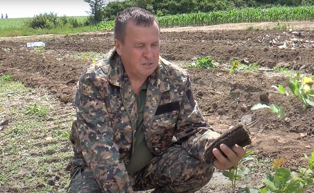 Лісничий Розсошенського лісництва Олексій Солодкий