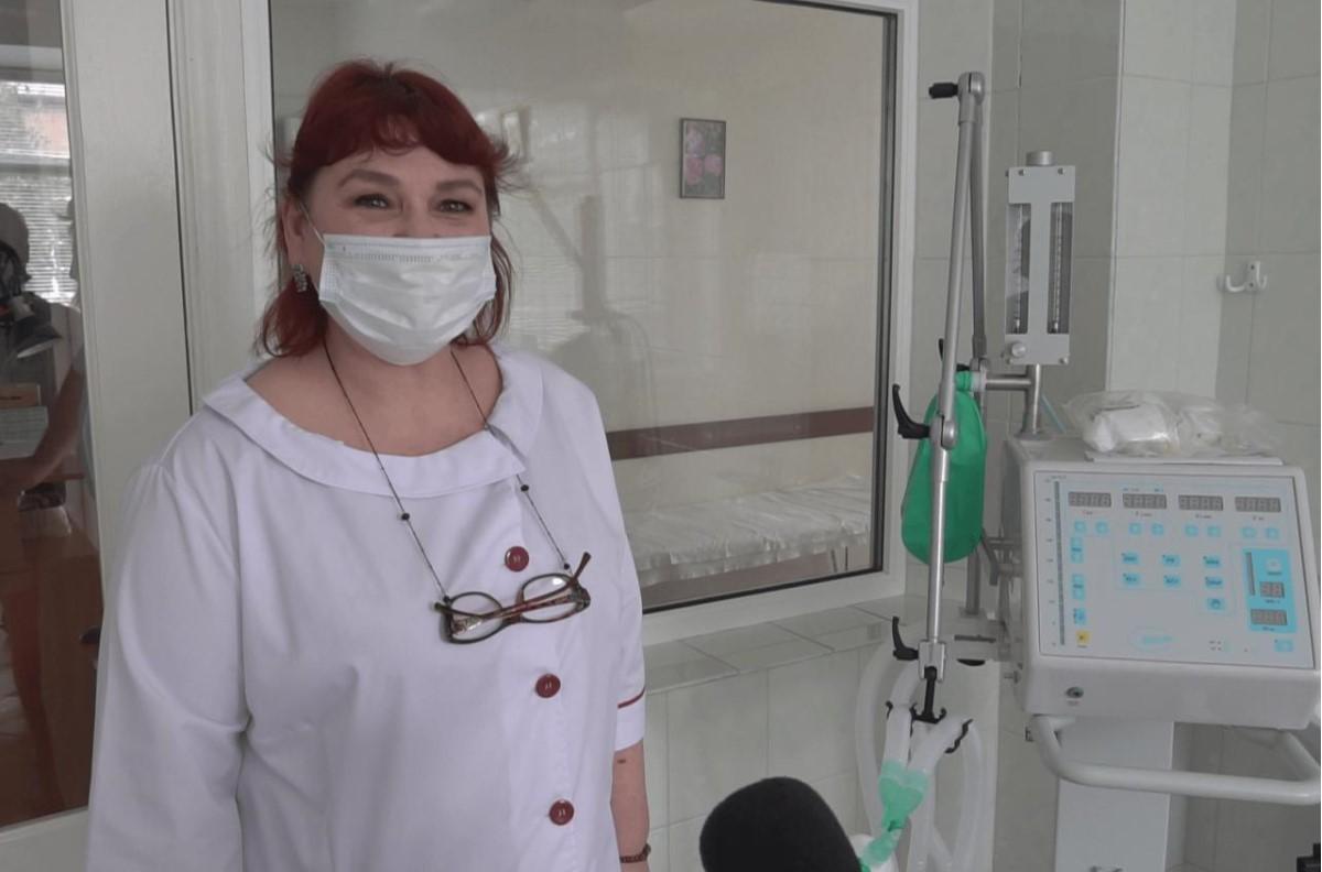 Головний лікар Шишацької районної лікарні Маргарита Хорольська