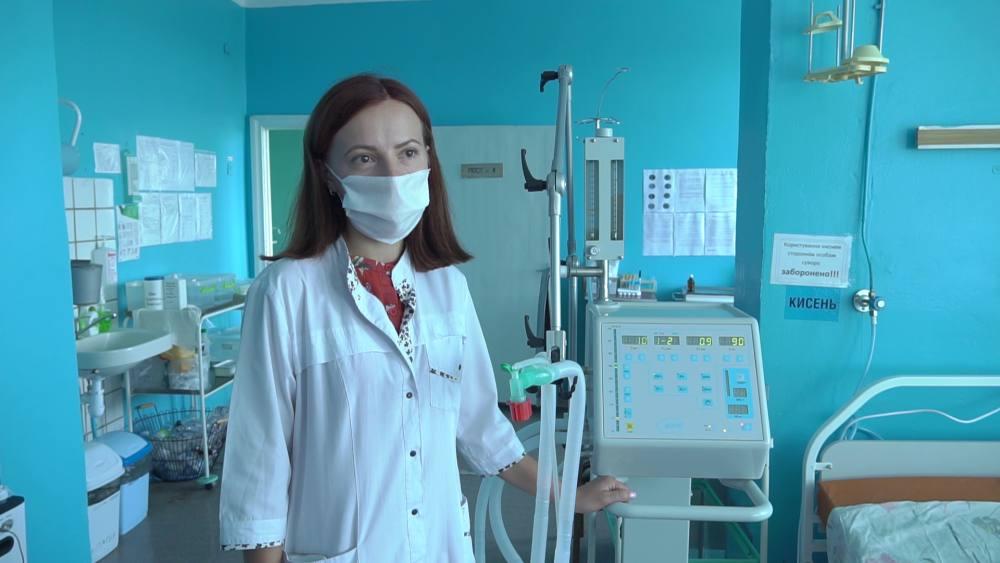 Лікарка-анестезіолог Чутівської райлікарні Юлія Солонцева