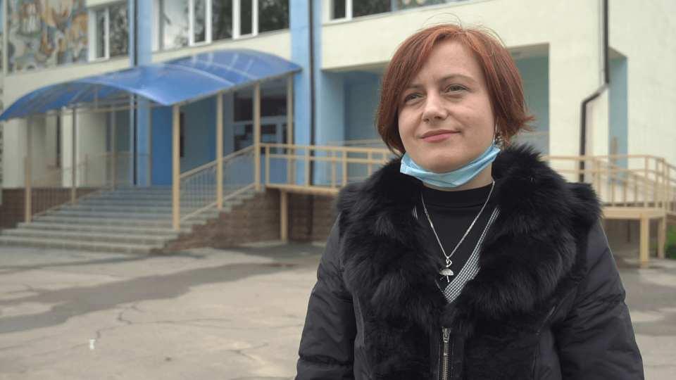 Начальниця відділу освіти виконавчого комітету Щербанівської сільради Леся Осадча
