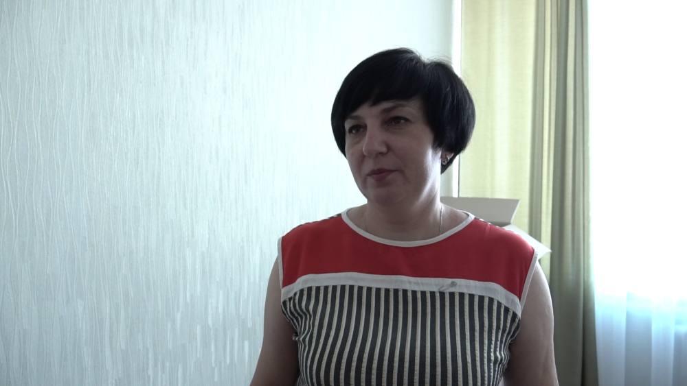 Заступниця сільського голови Світлана Мельник