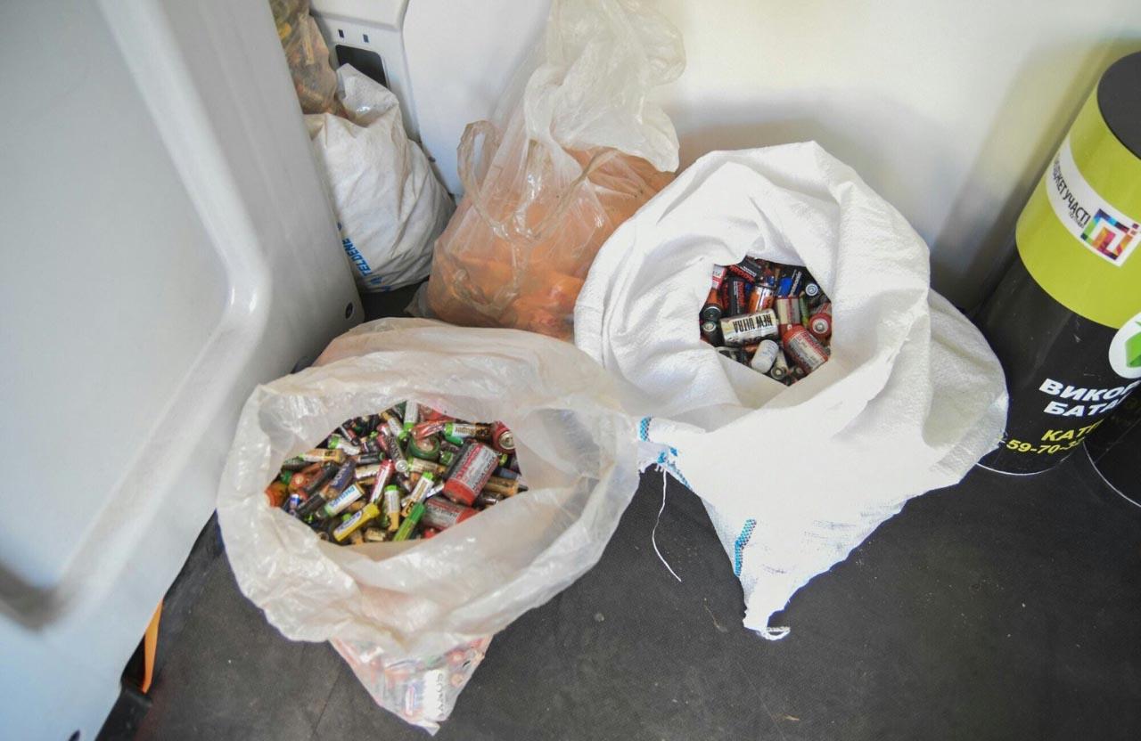 Приносьте батарейки — не забруднюйте довкілля!