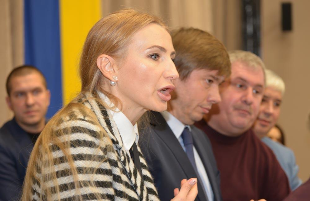 Обласна депутатка Ірина Степаненко