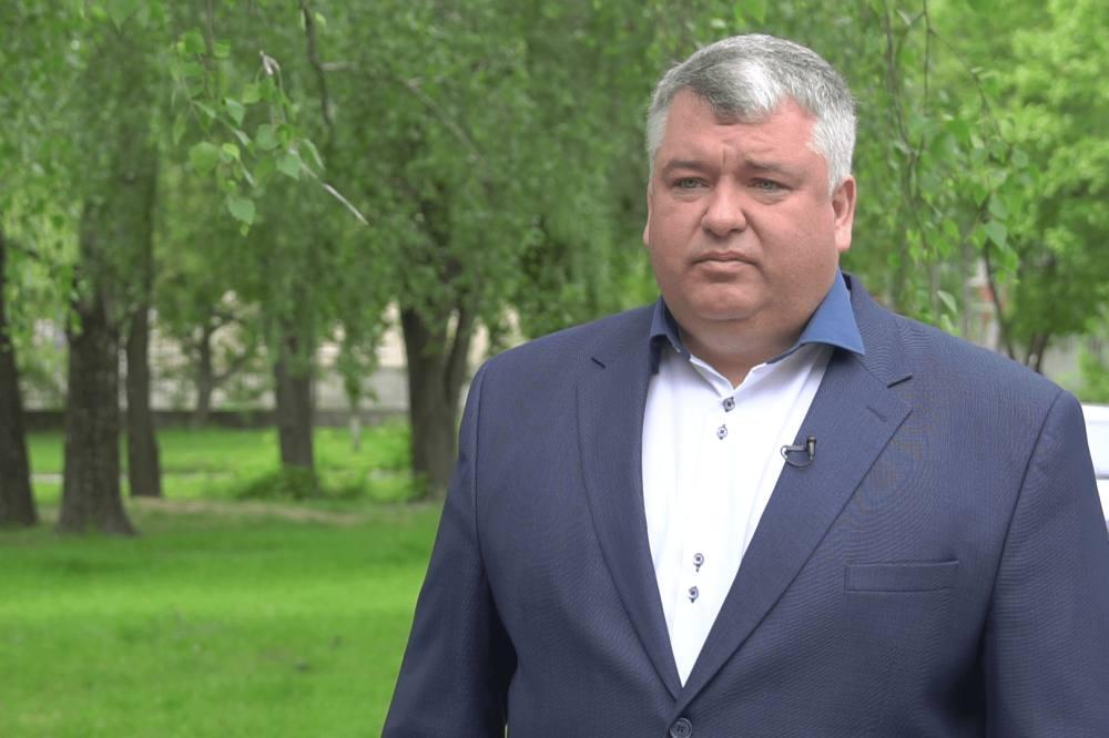 Начальник управління ЖКГ, архітектури та містобудування В'ячеслав Макаренко