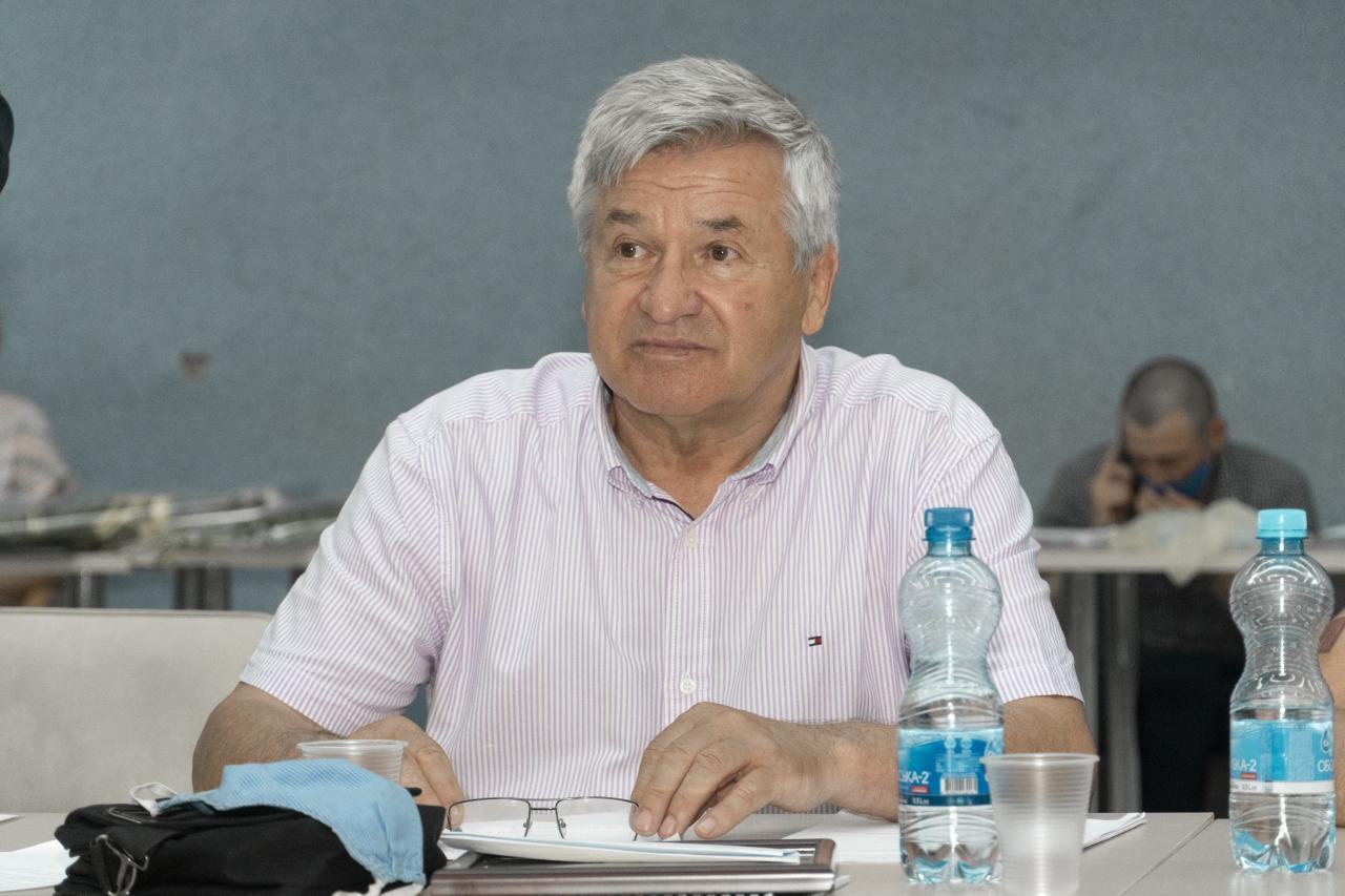 Президент Асоціації ветеранів спорту Полтавщини Петро Бутрій