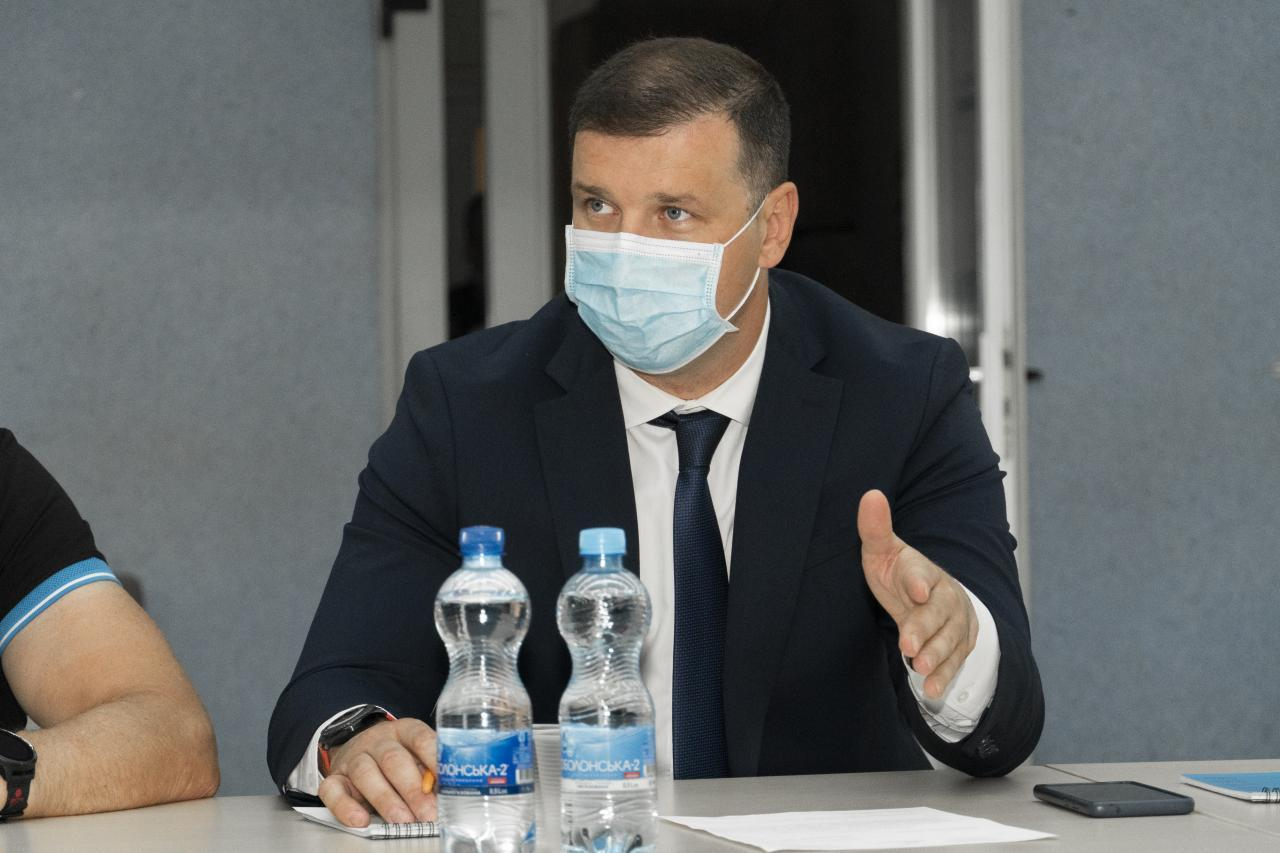 Секретар Полтавської міськради Олександр Шамота
