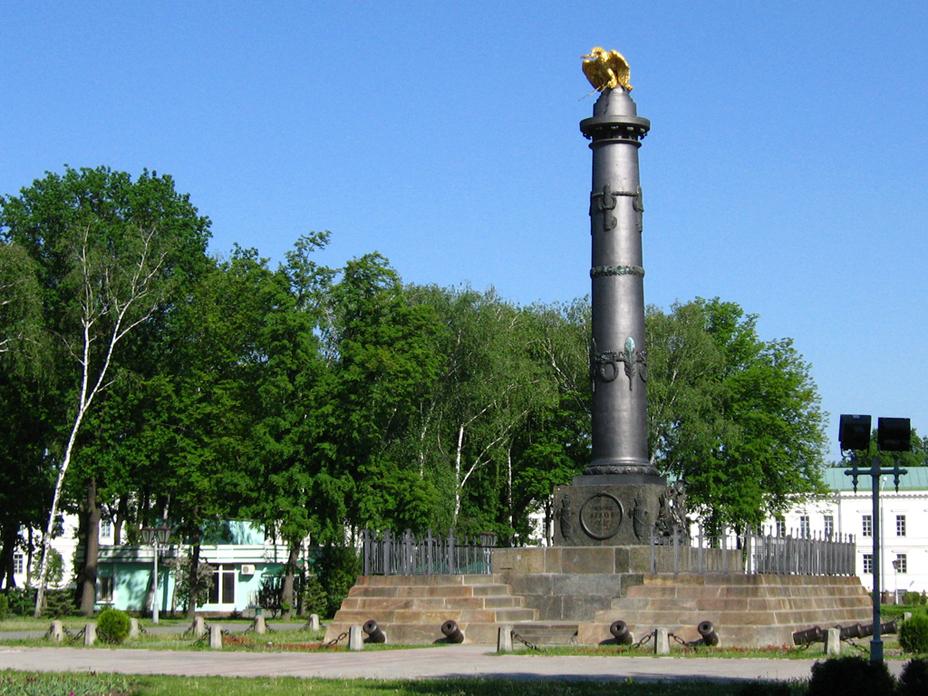 Монумент Слави до встановлення огорожі