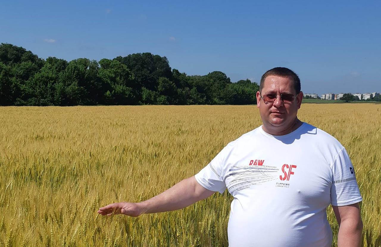 Михайло Сокирко прагне підвищити якість насіннєвої продукції