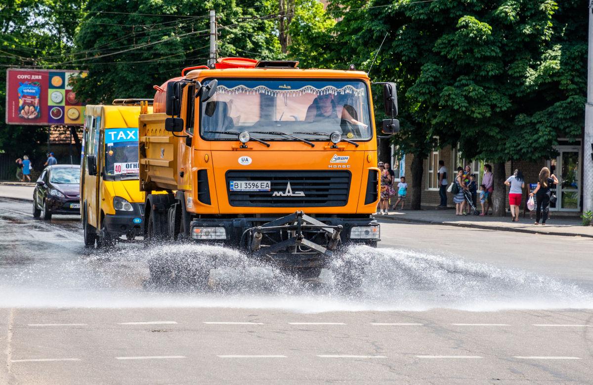 Поливання вулиць