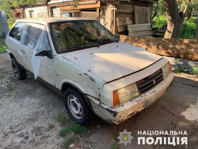 Поліція розшукувала ВАЗ-2108 з правим переднім крилом чорного кольору