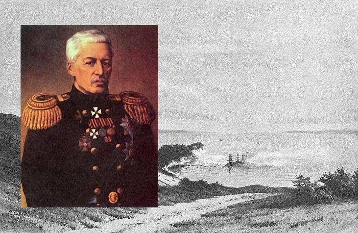 Василь Завойко командував Петропавловською обороною
